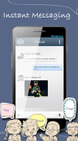 Screenshot of SMSall Messenger