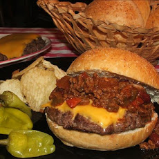 Chili Cheeseburgers and Homemade Buns