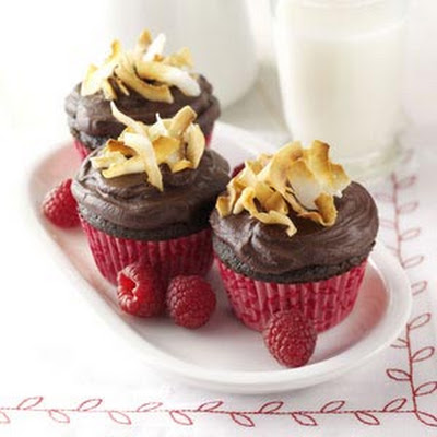 Chocolate Raspberry Cupcakes