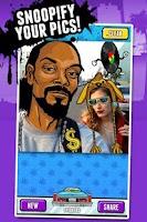 Screenshot of Snoop Lion's Snoopify!