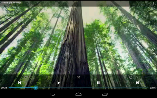 pvstar-youtube-music-player for android screenshot