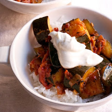 Zucchini and Tomato Curry