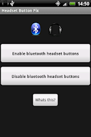 Screenshot of Headset Button Fix