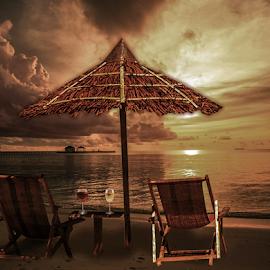 Sunset by Svetla Stoimenova - Digital Art Places