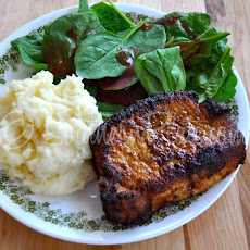 Blackened Pork Chops