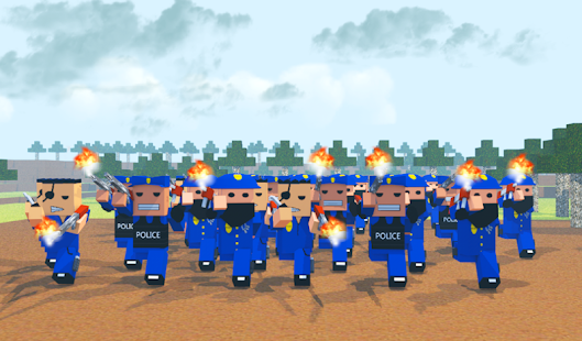 Cops Craft - screenshot