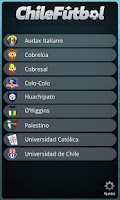 Screenshot of Chile Futbol