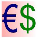 Euro Dollar Converter icon