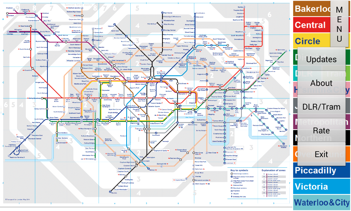 London Tube Map - Android Apps on Google Play