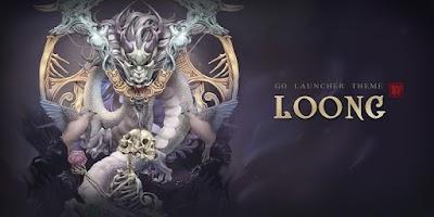 Screenshot of Loong GO Launcher Theme