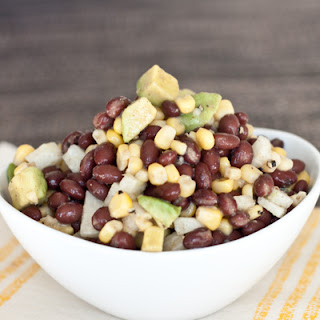 Cumin-Lime Black Bean, Jicama, and Corn Salad