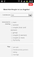 Screenshot of Adult Hookup - Local Search