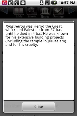 touch-bible-free-bible for android screenshot