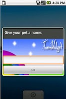 Screenshot of TamaWidget Penguin *Ad support