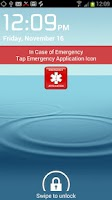 Screenshot of In Case of Emergency (ICE)