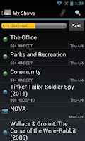 Screenshot of DVR Commander for TiVo®