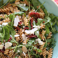Summer Pasta Salad with Baby Greens