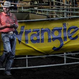 Wranglers by Esther Lane - People Fashion ( cowboy, topeka, rodeo, people, kansas, man,  )
