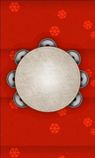 【免費娛樂App】Tambourine Christmas Free-APP點子