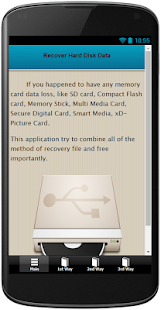Recover Hard Disk Data - screenshot