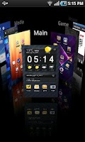 Screenshot of Regina 3D Launcher Pro