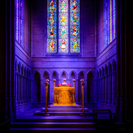 The Alter Of Bryn Athyn by Wil Moore - Buildings & Architecture Places of Worship ( church, colorful, art, glass, architecture )
