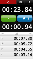 Screenshot of Stopwatch Pro