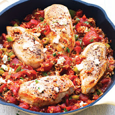 Skillet Spanish Chicken & Rice