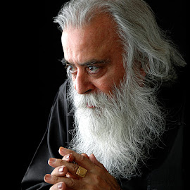 Gurudev #3 by Rakesh Syal - People Portraits of Men