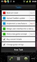 Screenshot of TaskBot - To-do List