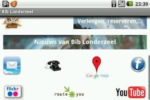 Screenshot of Bib app Londerzeel