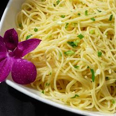 Garlic Angel Hair Pasta