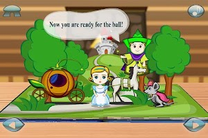 Screenshot of Cinderella 3D Pop-up Book Lite