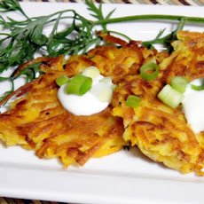 Potato-Carrot Pancakes