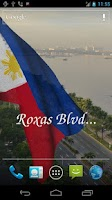 Screenshot of 3D Philippines Flag LWP +