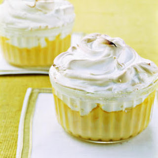 Orange Meringue Puddings