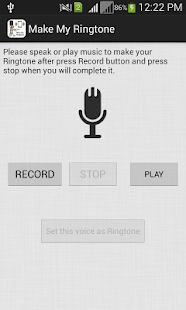 Make Own Ringtone - screenshot