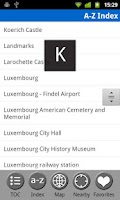 Screenshot of Luxembourg Travel Guide & Map