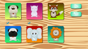 Screenshot of Kid's Cubes 3D Puzzle