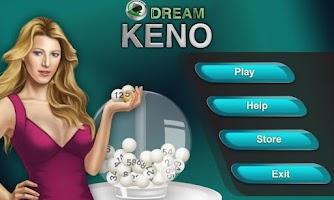 Screenshot of Dream Keno