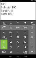 Screenshot of Calculator PanecalST Plus
