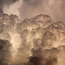 Storm rolls in by Michelle Anderson Eich - Landscapes Cloud Formations ( clouds, sky, weather, storm )