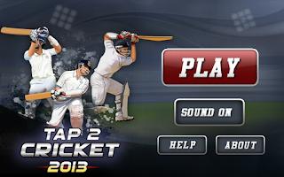 Screenshot of Tap Cricket 2013