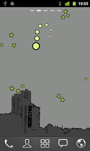 個人化必備APP下載|Night Sky Bot Live Wallpaper 好玩app不花錢|綠色工廠好玩App