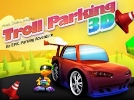Screenshot of Troll Car Parking 3D Free