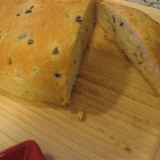 Kalamata Olive and Garlic Bread