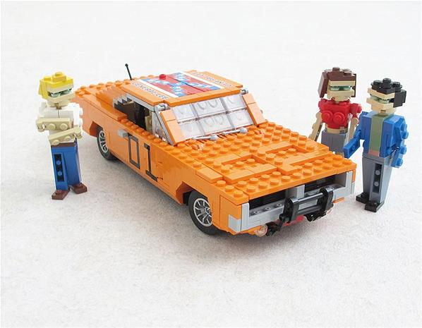 Dukes Of hazard Lego