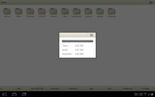 Screenshot of File Manager for Tablet