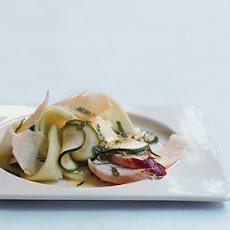 Zucchini Melon Salad