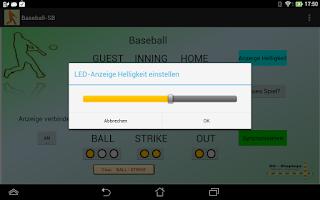 Screenshot of Baseball - Scoreboard